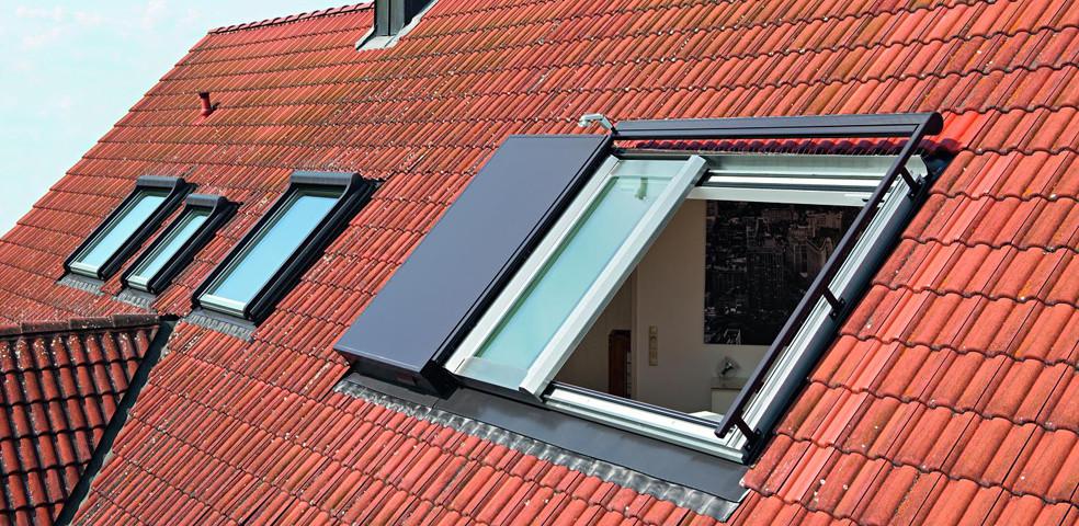 Roto Azuri Aussen1 Dachfenster Retter