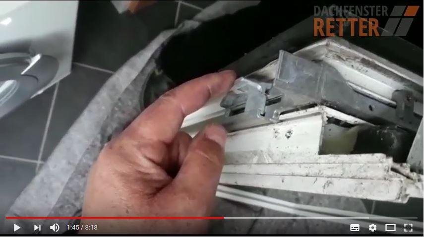 Roto Ausstellarm Reparatur