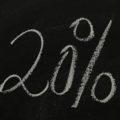 20 Prozent Zuschuss