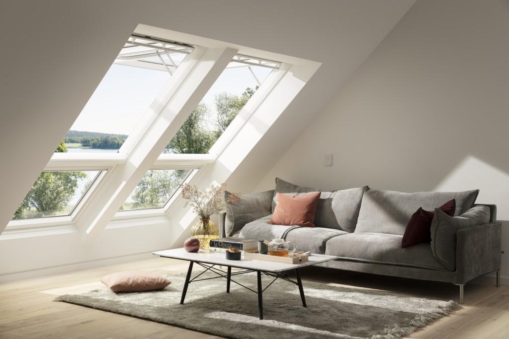 VELUX INTEGRA Elektro-Klapp-Schwing-Fenster