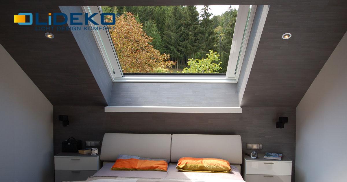 Lideko Dachfenster für Loggia & Balkon